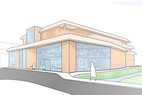 VISJON: Meir areal, meir glas og fleire forretningar, er planen til Ida Berqvam.
