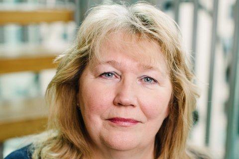 BLANDA: Grete Karin Berg, regiondirektør i NHO Vestlandet, ser teikn til betring, men er framleis uroa for eit stort antal bedrifter som planlegg oppseiingar eller fryktar konkurs.
