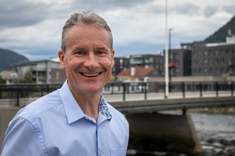 NYE MÅL: Olve Grotle (H), ordførar i Sunnfjord kommune, er klar for nye oppgåver på Stortinget.