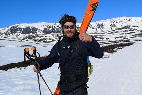 AKTIV SJEL: Om alt går etter planen, skal Andreas Isaksen Dahl lære ungdommen å lage dokumentariske videoar frå ekstremsport.