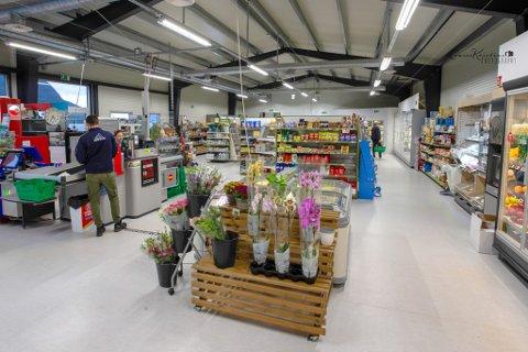 NYTT: Butikken opna nytt butikklokale sommaren 2019. – Vi hadde valet mellom å gå vidare, eller å snu på flisa og bygge nytt. Det har fungert veldig bra, sier Dagfinn Førde.