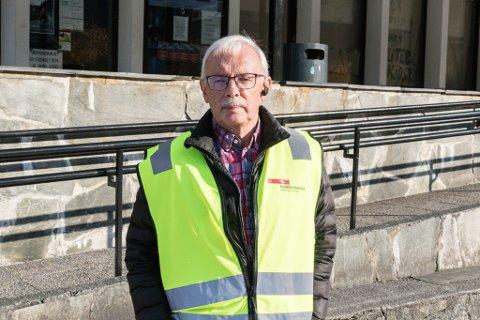 OVER: No er busstreiken over. Måndag denne veka møtte Firda Jostein Gjermundstad, ein av mange sjåførar som streika. No er partane blitt samde om ei løysning.