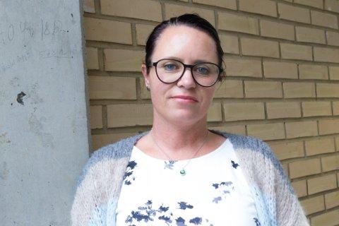 GUFFEN OPPLEVING: Gina Ness Hallset frå Førde terrapibasseng blir opprørt av at folk utset andre for dette med vilje