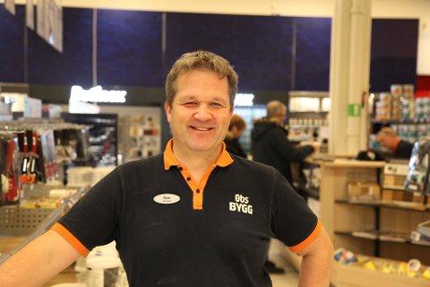 EVENTYR: Obs Bygg i Førde opplevde rekordvekst i fjor. – Eit eventyr, seier varehussjef Rune Øksenberg.