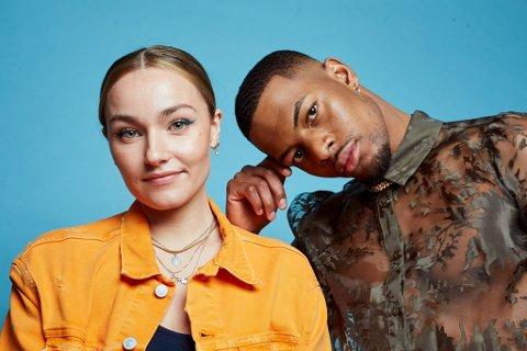 NY DUO: Måndag 25. januar går NRK P3 sitt nye programkonsept «StudioP3» på lufta. Arianrhod «Arian» Engebø (26) er programleiar. Med seg får ho Nathan «Nate» Kahungu (24), kjent frå «Love Island» og som finalist i «Skal vi danse».