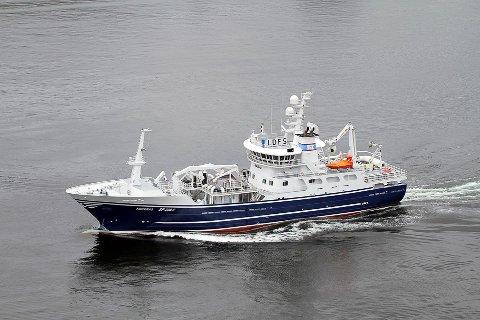 DRAMATISK: Fiskebas var på veg mot båten som sokk i Kvænangen og var berre 100 meter unna då det skjedde.