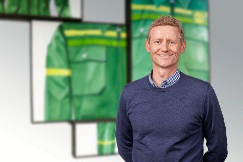 GRØNT SKIFTE: Svenn Ivar Fure (45) byter grøn solindustri med dei grøne dressane til Felleskjøpet.