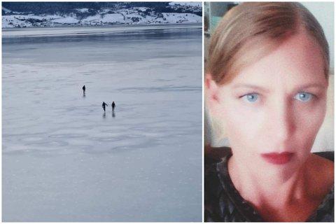 UTRYGT: Dette møtte Caroline Solibakke då ho kom heim frå ein skitur fredag ettermiddag. – Eg vart sjokkert, seier ho.