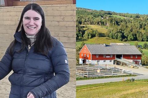 EKKELT: Styreleiar Anne Marie Håheim, Norsk Fjordhestgard,  hadde nyleg eit besøk på fjordhestgarden som ho skulle vore forutan. Her med hesten Almas Silva.