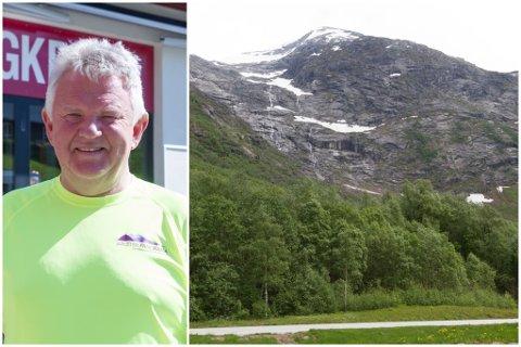 NATURARV: Lundebotn i Kjøsnesfjorden er ein populær utsiktsplass, og startplass for turgåarar. I juni bad Sunnfjord kommune Vegvesenet om å planlegge ei avkøyrsle som er dimensjonert for veg til ei eventuell gondolbane i Jølster. No hentar styreleiar i selskapet, Ola Fugle, fleire millionar til selskapet.