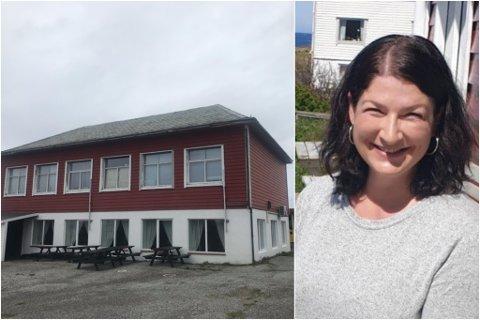 NØGD: – Akkurat i år trur eg folk var ekstra gira. Det er kjempekjekt at så mange har støtta oss, seier Marianne Hillersøy, styreleiar i Bulandet Bygdehus.