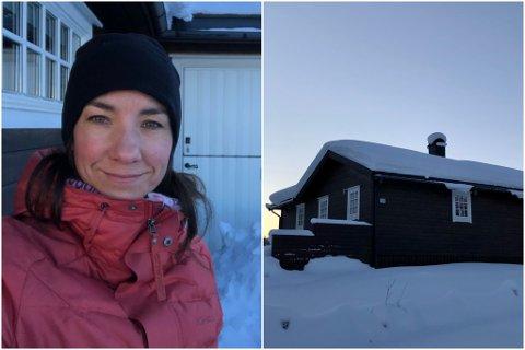 KJØPT HYTTE: Marianne Tveit har lenge vore på jakt etter hytte, i 2020 fann ho draumehytta.