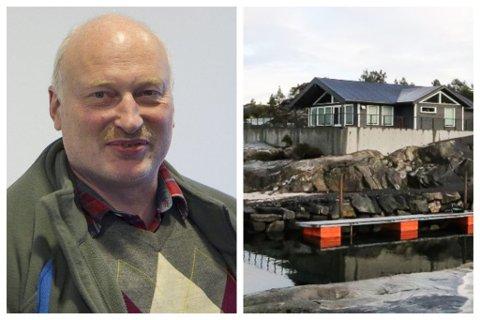 LEI SAK: I mange år har Folkestad-hytta prega hyttefeltet. - Det har vore ei trist sak for alle partar, seier Ove Varlid, som har hytte i området.