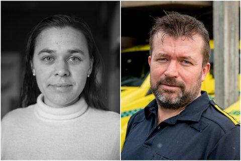 BAD OM SVAR: Silje Knutssøn sende i desember spørsmål til Helse Førde om kva beredskapsplan dei har for innbyggjarane på Høyanger sørside. Nokre dagar seinare fekk ho svar frå ambulansesjef Stian Sægrov.