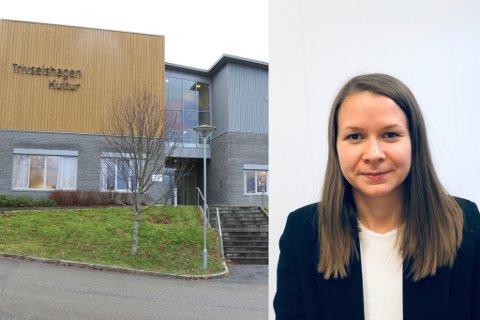 TILSET: Elleve har søkt på jobben som ny dagleg leiar for Trivselshagen IKS. Synne Marie Oppheim  er nestleiar i styret til Trivselshagen, og held no på å finne den rette for stillinga i søknadsbunken.