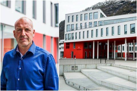 FØRE VAR: – Vi har vore i ei lita boble i Sunnfjord, men rundt oss er det uroleg. No innfører vi dette, så må vi sjå etter påske korleis det går, seier personalsjef Jan Birger Moe i Sunnfjord kommune.