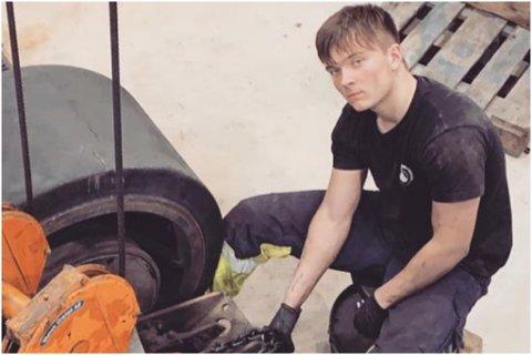 STUDENT: Ole-Tobias Yndestad (21) tar kurs i fagområdet Lean på Fagskulen i Sogn og Fjordane. No har Fagskulen fått 4,55 millionar kroner til å fortsetje arbeidet.