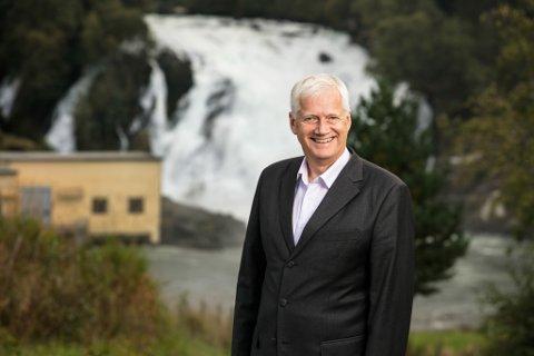75 MILLIONAR I UTBYTE: SFE fekk eit bra årsresultat i 2020. Konsernsjef, Johannes Rauboti, er glad for å kunne føre tilbake verdiar til offentlege eigarar og til regionen.
