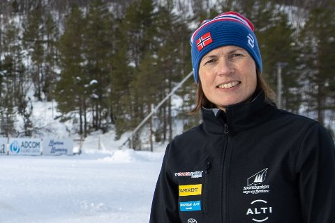 TRE ÅR SOM SJEF: Ingrid Narum sluttar denne våren som som øvste sjef i Sogn og Fjordane skikrins. Ho har hatt jobben sidan 2018.