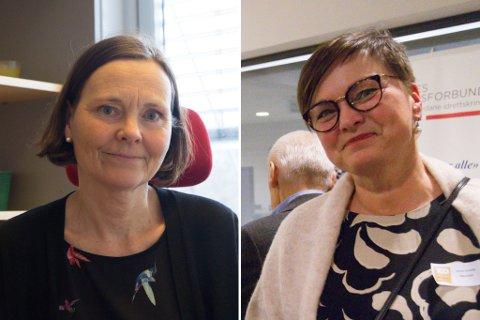 PÅ SØKARLISTA: Randi Skår frå Førde (t.v) og Anne-Grethe Naustdal frå Naustdal.