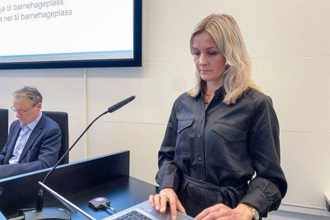 LEIAR: Kristine Steindal er kommunalsjef for barnehage i Sunnfjord kommune.