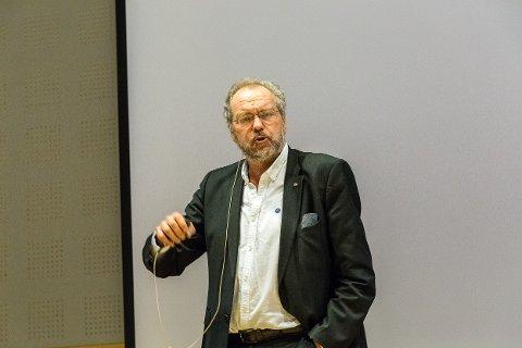 UTE AV SPEL: Statsforvaltar Lars Sponheim i Vestland er sjukmeld inntil vidare.