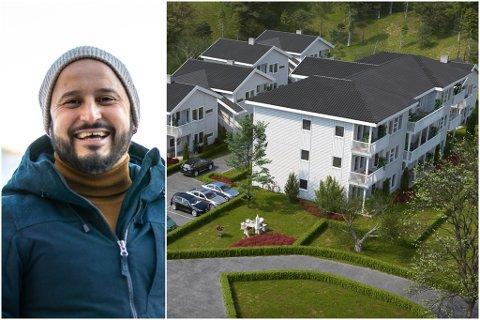 NY DAGLEG LEIAR: Orlando Montenegro har overteke både som hovudaksjonær og dagleg leiar for Rådhushagen AS i Askvoll.