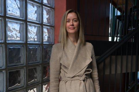 BLIR DAGLEG LEIAR: Ellen Katrine Kristensen tar over som dagleg leiar hos Mediebruket, eit knapt år etter at ho og familien flytta heim frå Oslo.