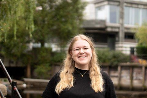 NY LEIAR: Frida Pernille Mikkelsen er påtroppande leiar for Norsk Målungdom.