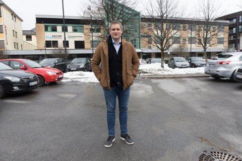 SENTRUM SØR: Vidar Slettehaug, styreleiar i Førde sør AS