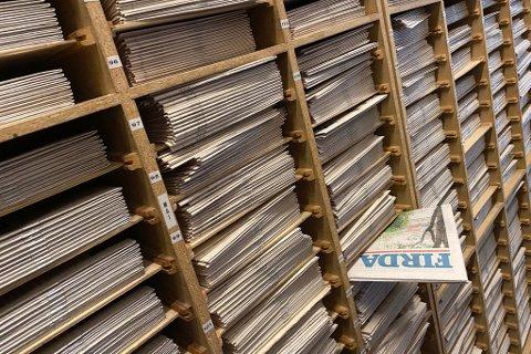 ARKIV: Alt Firda nokon gong har publisert på papir, er å finne digitalt.