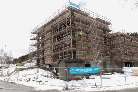 INNBROT: Etter påska vart verktøy meld stole frå ein byggeplass i Naustdal.