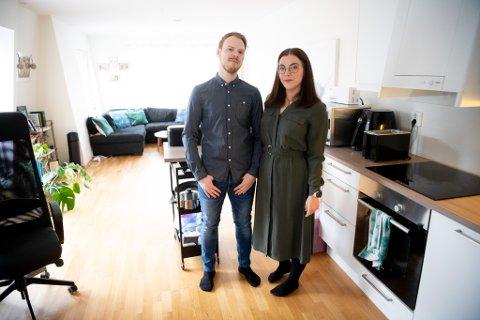 Kristoffer Eide  og samboer Frida von Sydow følte at de kastet vekk livet på å sitte i ro hjemme. Etter påsken i fjor bestemte de seg for å snu opp ned på livsstilen. Han har tatt av 30 kilo, mens hun har gått ned 50.