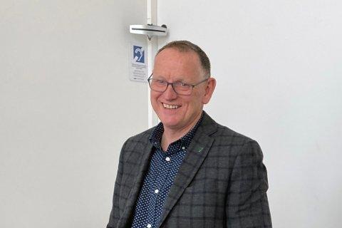 KOMMUNEDIREKTØR: Ole John Østenstad.