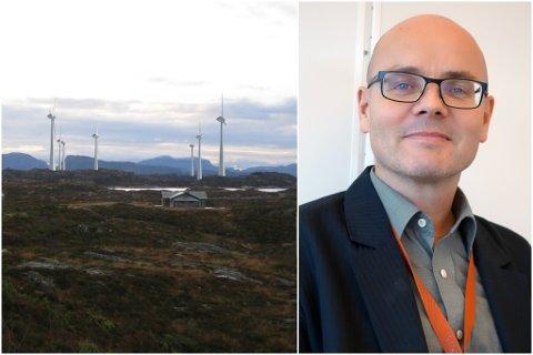 ENDELEG VEDTAK: Fredag vart det klart at Statsforvaltaren i Rogaland gir dispensasjon til Vestavind Energi AS. På bildet: Jan Petter Stangeland, avdelingsdirektør for Samfunnsavdelinga.