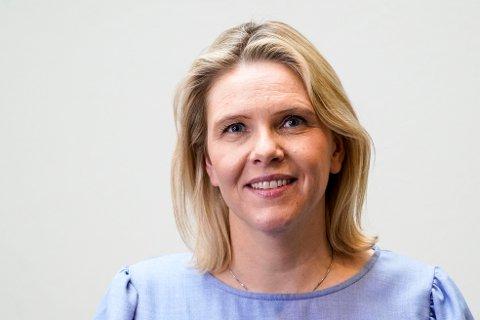 MELDEPLIKT: Sylvi Listhaug (Frp) fremja forslaget om meldeplikt for helsepersonell når det er grunn til å tru at eldre blir utsett for vald og overgrep.