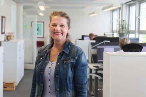 FEKK HEIDER: Hanne Lid er årets tillitsvalde i Parat Media.