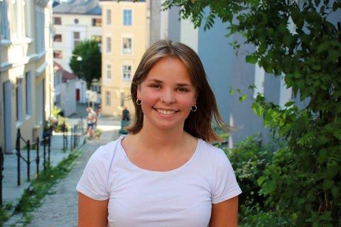 GODT Å VERE NORSK I DANMARK: Til hausten flyttar Sigrid Aanestad Moltumyr til Danmark. Ho blir derfor ikkje å sjå i kommunestyremøta til hausten.