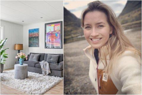AUKE: Mari Seim kjøpte bustad medan ho studerte i Førde. På mindre enn fem år steig prisen på denne bustaden nær 700.000 kroner.