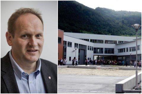 TRASIG: FAU-leiar ved Førde ungdomsskule, Jarle Øen, meiner at politikarane bør revurdere klassefordelinga ved Sogndal vidaregåande skule. Han synest det er trasig at 36 elevar no ikkje kjem inn på førstevalet sitt.