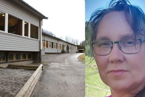 HASTAR: Leiar for FAU ved Hyen skule og barnehage, Anne Berit Selle er redd for at ei ny planlegging av nye Hyen skule vil forseinke prosjektet. Ho manar til at ein må halde seg til planane som ligg klare.