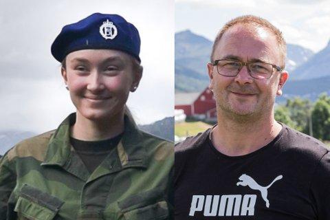 STOR GLEDE:  For familien Hauge er fortviling snudd til glede. No får Benedikte Nygjerd Hauge (20) landbruksperm. Pappa og jordbærbonde Tore Hauge (45) er kjempeletta.
