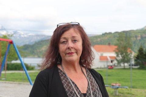 NØGD: Anne-Line Thingnes Førsund i Naturvernforbundet er blant dei meir markante motstandarane av engebøprosjektet her i området.