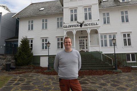 LETTA: Hotelldirektør Preben Moen er letta over at politikarane har rydda opp.