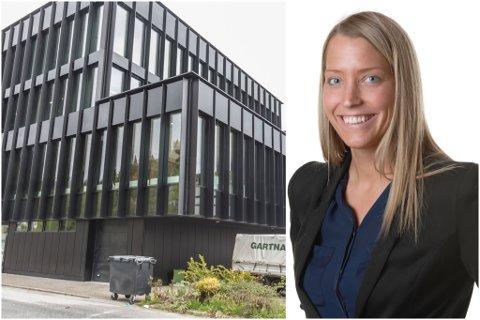 NYE UTFORDRINGAR: Katrine Osland startar i ny jobb hos Norec neste vår. Etter mange år i Sparebanken Sogn og Fjordane gler ho seg til nye utfordringar: – Tida er inne for å prøve noko nytt.