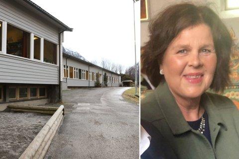 FRUSTRASJON: Tillitsvald for lærarane ved Hyen skule, Margunn Løkkebø Solheim, fortel om stor frustrasjon blant lærarane.