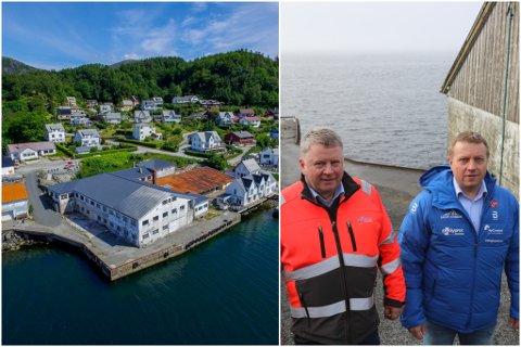 KAN GÅ I GANG: No kan Jan Erik Aase og Alf Helge Fimland gå i gang med riving og bygging av leilegheiter.