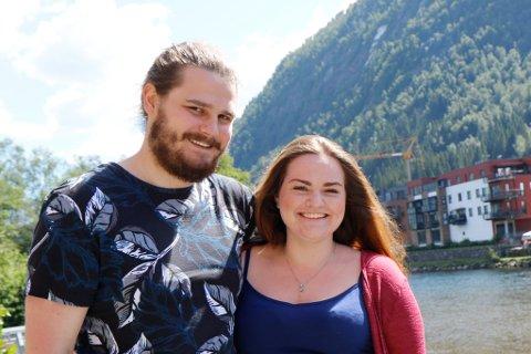 GIFTAR SEG: Elisabeth Sowerby Dale og William Anthun er klare for å gifte seg. Dei møttest i 2011 og giftar seg 10 år etter. Sjølv om koronapandemien har lagt ein dempar på planlegginga av bryllaup, er dei overtydd om at dagen blir fin uansett.