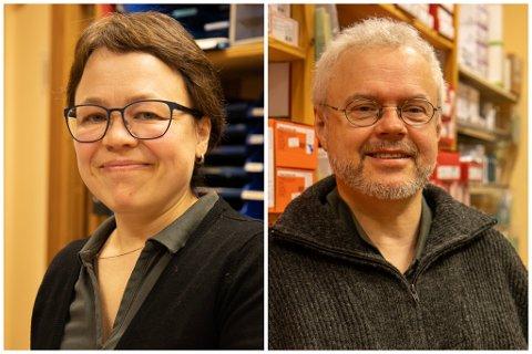 FØRDE MEDIKAL AS: Randi Beate Gulbrandsen og Knud Mikkel Hetlelid eig 50 prosent kvar av selskapet.