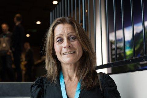 MED Å ARRANGERE: Bente Hauge i Sunnfjord Utvikling, som saman med ei rekke bedrifter er med å arrangere konferansen for næringslivet i desse dagar. Hovudarrangøren er FINS Aktivitet, som er eigd av Førde Industri- og Næringssamskipnad (FINS).